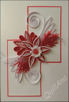Red & white combination..