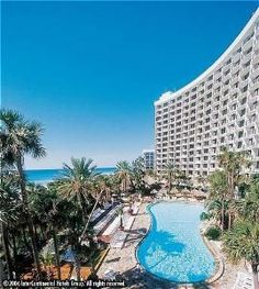 Our favorite hotel stay in Panama City Beach,fl. The Holiday Inn Resort