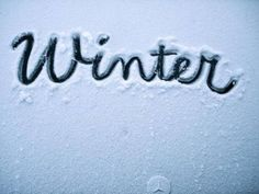 I love winter! I wish it snowed where I live