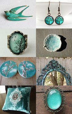 Simply Turquoise by Patricia Pinheiro on Etsy--Pinned with TreasuryPin.com