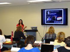 Kristin Linde our resident social media expert #vpbootcamp