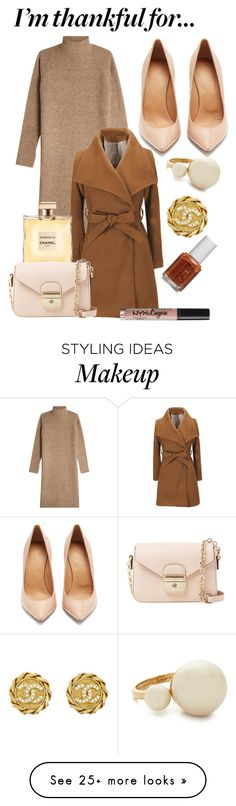 """Senza titolo #46"" by marylou666 on Polyvore featuring By Malene Birger, Maison Margiela, Chanel, Longchamp, Kate Spade, Essie and NYX"
