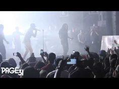 Wale Performs Clappers @ Best Buy Theatre W/ DJ Khaled