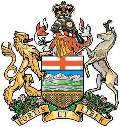 Coat of Arms of #Alberta | #heraldry