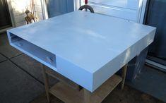 blue Polyurethane over paint
