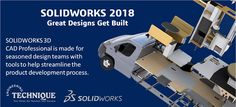 #SOLIDWORKSProfessional builds on the capabilities of #SOLIDWORKSStandard with ECAD/MCAD collaboration, automated cost estimation, collaboration capabilities, design and drawing checking, a sophisticated components and parts library, and advanced photorealistic rendering.   #Solidworks2018