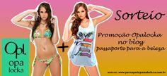 """Promoção """"Pronta para o verão"""". Concorra a um biquíni + camiseta da Opalocka…"""