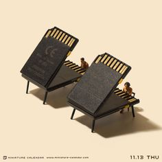 *Memory #piano #miniature // by Tatsuya Tanaka - Miniature Calendar