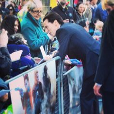 Okay... last one... Hopefully... (must do things... have life to live..) Benedict Cumberbatch at the Star Trek Into Darkness UK premiere.. 2nd May..