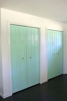 Boho Deco Chic: ANTES Y DESPUÉS: adiós a las aburridísimas puertas de armarios de los pisos de obra nueva!
