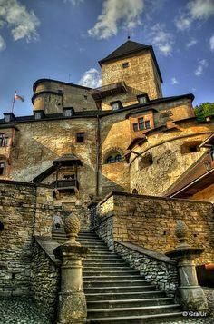 Oravský hrad, jeden z najkrajších hradov na Slovensku ...