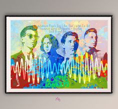 Arctic Monkeys Music Group Poster Watercolor art Collage Watercolor Printing Room Decor Art Music Art Music Poster  A592