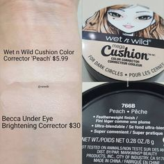 """245 Likes, 6 Comments - Vanessa (@vanedb) on Instagram: """"Although the Becca and Wnw share different consistencies,I believe the wnw is a nice dupe!If you…"""""""