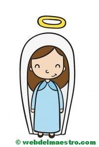 Resultado De Imagen Para Virgen Maria Dibujo A Color Dibujar Ojos