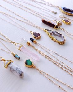 Necklaces by Shazoey Jewelry
