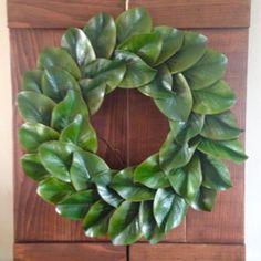 Magnolia Wreath, Farmhouse Wreath, Fixer Upper Style, Cottage Chic, Shabby Chic