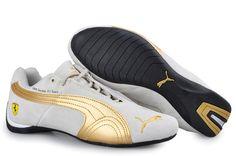 0eab614b069e Cheap Puma BMW Shoes Grey Gold Puma Sports Shoes
