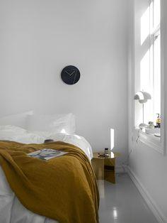 my scandinavian home: A Norwegian Bedroom Gets a Budget Make-over