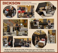 #StudentHousing Houston Students Get Creative With Dickson Furniture