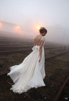Beaded CAP Sleeve Boho Style Full A Line Wedding Dress With BIG BOW Size 6 TO 22 | eBay