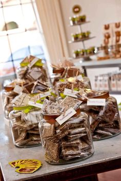 Goodytwos Toffee.  Homemade fresh toffee, my personal fave is the dark chocolate with sea salt :)