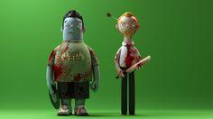 Shaun of the Dead action figures!