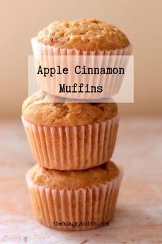 Apple Recipes Easy, Cinnamon Recipes, Easy Baking Recipes, Fun Easy Recipes, Cinnamon Apples, Muffin Recipes, Baking Ideas, Snack Recipes, Snacks