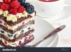 Homemade cake with berries. Cake sweet dessert for holiday. Cake photography. Stock photography, images, pictures, Illustrations. Cake Images Download. Sweet food is gourmet. Festive dessert.