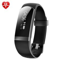 2018 New Unisex Oled Activity Wristband Tracker Smart Bracelet Waterproof Heart Rate Blood Pressure Electronic Gift Customizatio Neither Too Hard Nor Too Soft Watches