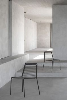 This beautifully minimal and elegant chair has been designed by the young Paris-based French designer, Mathieu Delacroix, which was the finalist proj. Young Paris, Metal Bar, Simple Lines, Minimalism, How To Draw Hands, Household Products, Indoor, Pure Products, Elegant
