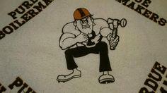 Purdue Pete Boilermakers Blanket Wall Covering Vintage in Sports Mem, Cards & Fan Shop, Fan Apparel & Souvenirs, College-NCAA | eBay