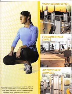 Published work for Life Fitness