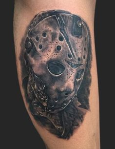 Daniel Chashoudian - Jason Voorhees friday the 13th tattoo