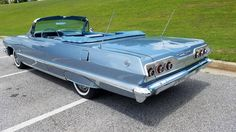 Cars Discover Chevrolet Impala for Sale 1965 Chevy Impala, 64 Impala, Chevrolet Chevelle, Classic Car Garage, Classic Cars, Cool Old Cars, Nice Cars, Impala For Sale, Plymouth Muscle Cars