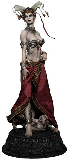 "Queen of the Damned by Sideshow Collectibles — 21.5"" (54.61cm) tall"