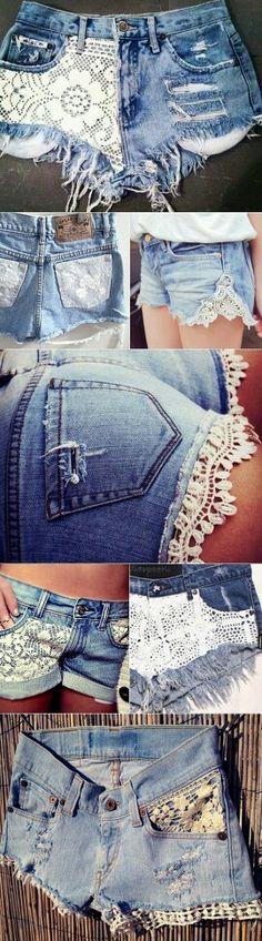 Short customizado #amei #fashion #streetstyle