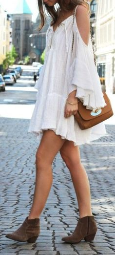 Boho...but I'd put some sandals with that...or some bottomless sandals..that would be sweet.