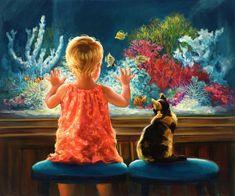 Artist~Laurie Hein Snow   Better than TV ;-)