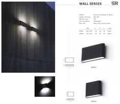 LED LIGHT#led wall lights#led wall lamps#led wall packs   srlight.onloon.cc Led Wall Lamp, Led Wall Lights, Light Led, Diffuser, Wall Mount, Indoor, Glass, Home Decor, Interior