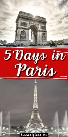 Paris is the city of love and the city of lights. Here's how to plan the perfect 5 day itinerary for a wonderful trip. #Paris #Europe #Travel #TravelDestinations