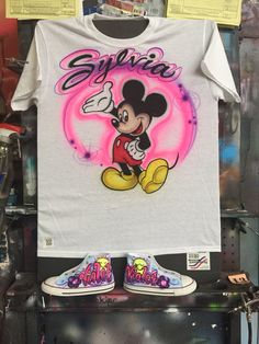 4c1f1f913b90 Haven t posted in a while so here s a lil something ol school style mouse  shirt and