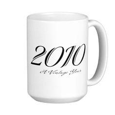 A Vintage year 2010 mug