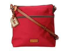 Dooney & Bourke Nylon Crossbody Clementine w/ Tan Trim - Zappos.com $98