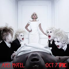 American Horror Story : Hotel  #RePin by AT Social Media Marketing - Pinterest Marketing Specialists ATSocialMedia.co.uk