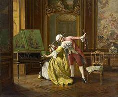 François Brunery (1849-1926) Il Bacio (?)1003434_374783542633594_905038175_n.jpg 388×320 pixels