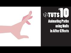 (12) TnT Tuts - #10 - Animating Paths using Nulls in After Effects - YouTube