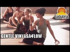 Gentle Vinyasa Flow: Open with Grace with Alyssa Ablan- Udaya Yoga - YouTube first 30 minutes complete 12/12/14