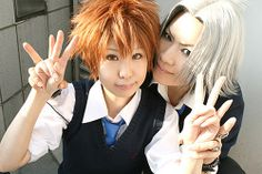 Tsuna and Gokudera cosplay