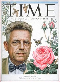 Alfred Kinsey (June 23, 1894 – August 25, 1956)