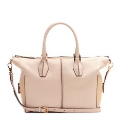 Tod's - D-Cube leather tote - mytheresa.com